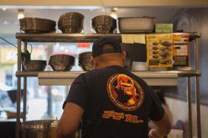Expert cooks prepare curry